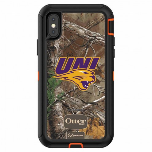 Northern Iowa Panthers OtterBox iPhone X Defender Realtree Camo Case