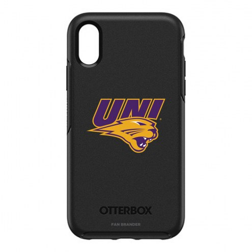 Northern Iowa Panthers OtterBox iPhone XR Symmetry Black Case