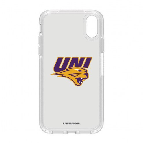 Northern Iowa Panthers OtterBox iPhone XR Symmetry Clear Case