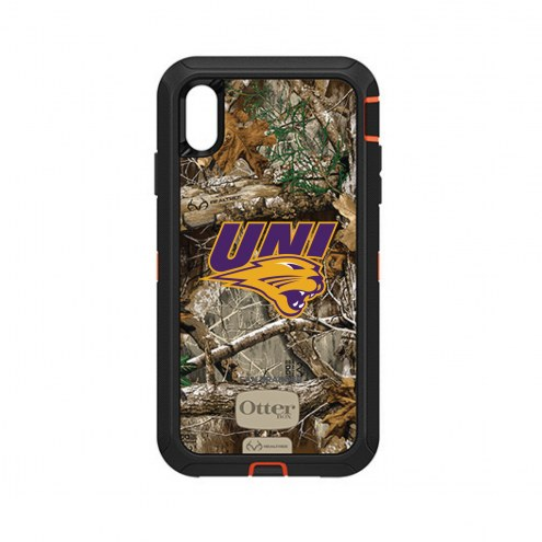 Northern Iowa Panthers OtterBox iPhone XS Max Defender Realtree Camo Case
