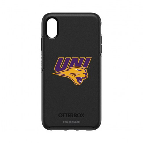 Northern Iowa Panthers OtterBox iPhone XS Max Symmetry Black Case