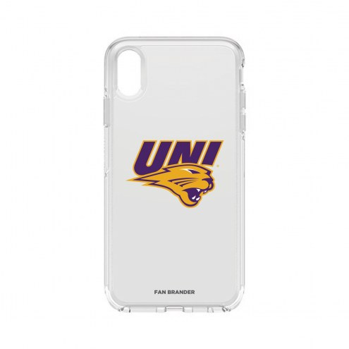 Northern Iowa Panthers OtterBox iPhone XS Max Symmetry Clear Case