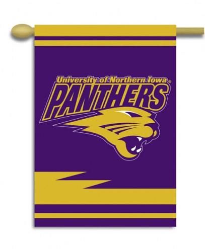 "Northern Iowa Panthers Premium 28"" x 40"" Two-Sided Banner"
