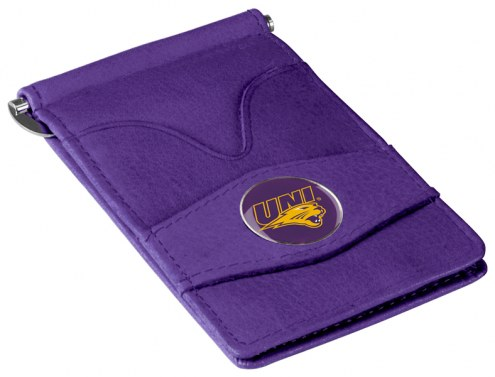Northern Iowa Panthers Purple Player's Wallet