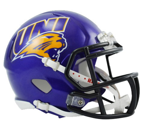 Northern Iowa Panthers Riddell Speed Mini Collectible Football Helmet