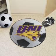 Northern Iowa Panthers Soccer Ball Mat