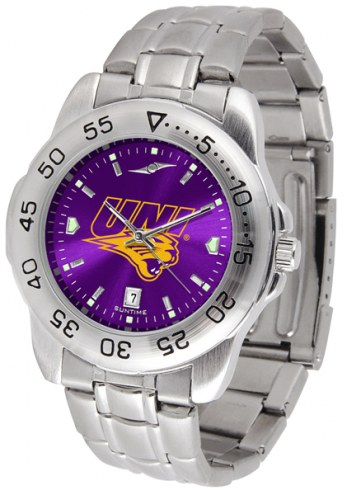 Northern Iowa Panthers Sport Steel AnoChrome Men's Watch