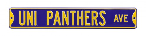 Northern Iowa Panthers Street Sign