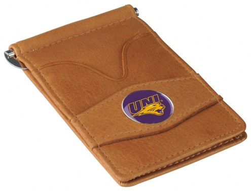 Northern Iowa Panthers Tan Player's Wallet
