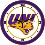 Northern Iowa Panthers Traditional Wall Clock