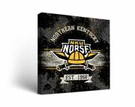 Northern Kentucky Norse Banner Canvas Wall Art