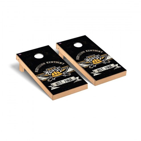 Northern Kentucky Norse Banner Vintage Cornhole Game Set