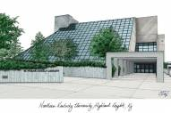 Northern Kentucky Norse Campus Images Lithograph