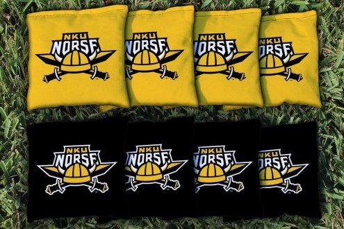 Northern Kentucky Norse Cornhole Bag Set
