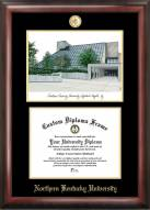 Northern Kentucky Norse Gold Embossed Diploma Frame with Lithograph