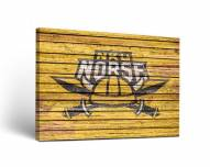 Northern Kentucky Norse Weathered Canvas Wall Art