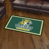 Northern Michigan Wildcats 3' x 5' Area Rug