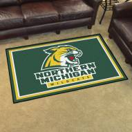 Northern Michigan Wildcats 4' x 6' Area Rug