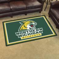 Northern Michigan Wildcats 4' x 6' Area Rug