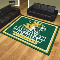 Northern Michigan Wildcats 8' x 10' Area Rug