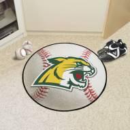 Northern Michigan Wildcats Baseball Rug