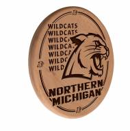 Northern Michigan Wildcats Laser Engraved Wood Sign