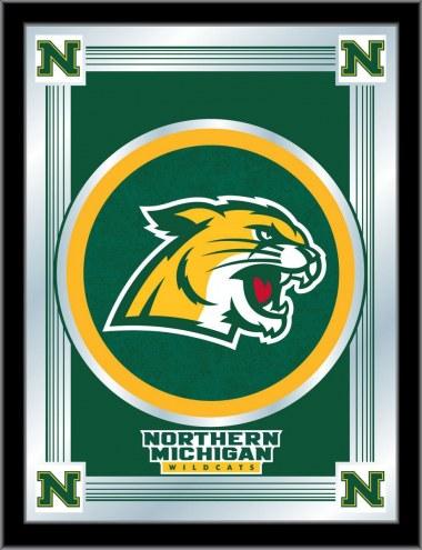 Northern Michigan Wildcats Logo Mirror
