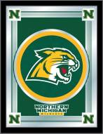 Northern Michigan Wildcats Logo Mirror