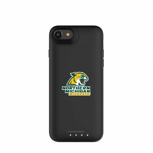 Northern Michigan Wildcats mophie iPhone 8/7 Juice Pack Air Black Case
