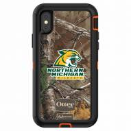 Northern Michigan Wildcats OtterBox iPhone X Defender Realtree Camo Case