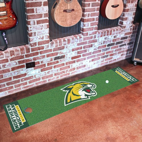 Northern Michigan Wildcats Putting Green Mat