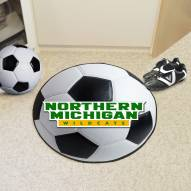Northern Michigan Wildcats Soccer Ball Mat