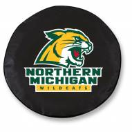 Northern Michigan Wildcats Tire Cover