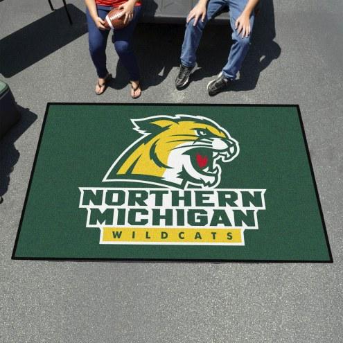 Northern Michigan Wildcats Ulti-Mat Area Rug