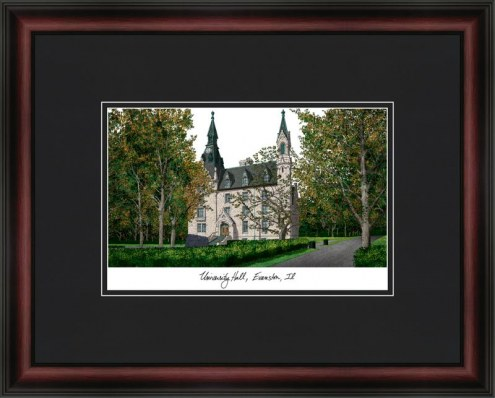 Northwestern University Academic Framed Lithograph