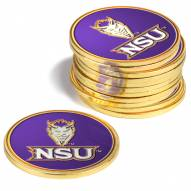 Northwestern State Demons 12-Pack Golf Ball Markers