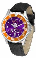 Northwestern State Demons Competitor AnoChrome Men's Watch - Color Bezel
