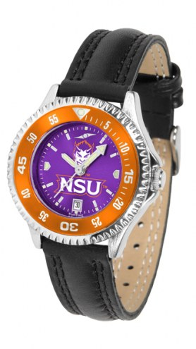 Northwestern State Demons Competitor AnoChrome Women's Watch - Color Bezel