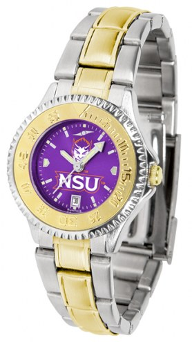 Northwestern State Demons Competitor Two-Tone AnoChrome Women's Watch