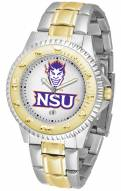 Northwestern State Demons Competitor Two-Tone Men's Watch