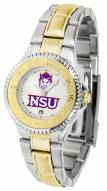 Northwestern State Demons Competitor Two-Tone Women's Watch