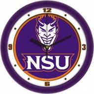 Northwestern State Demons Dimension Wall Clock