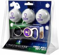 Northwestern State Demons Golf Ball Gift Pack with Key Chain