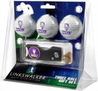 Northwestern State Demons Golf Ball Gift Pack with Spring Action Divot Tool