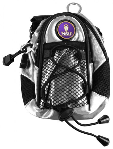 Northwestern State Demons Silver Mini Day Pack