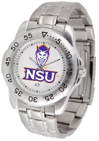 Northwestern State Demons Sport Steel Men's Watch