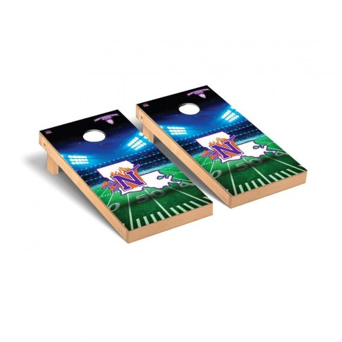 Northwestern State Demons Stadium Cornhole Game Set