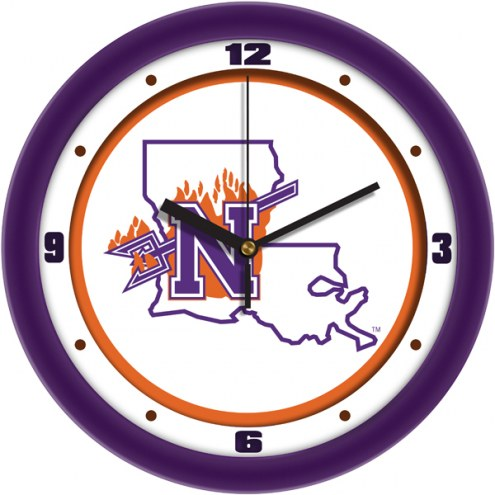 Northwestern State Demons Traditional Wall Clock