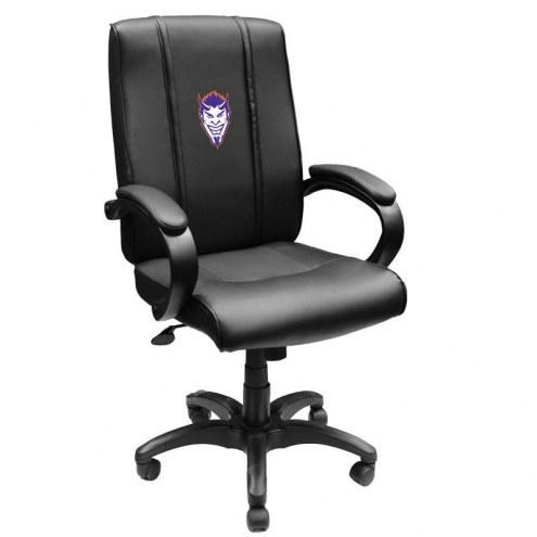 Northwestern State Demons XZipit Office Chair 1000 with Demon Head Logo