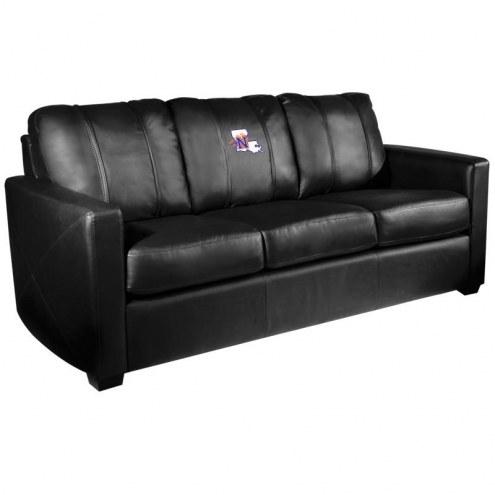 Northwestern State Demons XZipit Silver Sofa